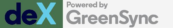deX powered by GreenSync logo